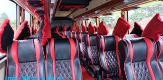Daftar Harga Sewa Bus Pariwisata di Ngawi Murah
